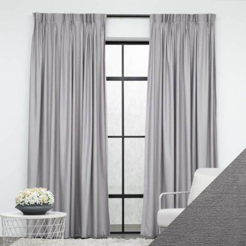 Baagus Curtain Sheer Malaysia Musical Light Grey FP 2078 12G 01