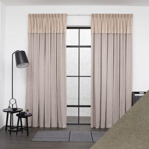 Baagus Curtain Sheer Malaysia Oriental Brown 1 01