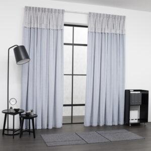 Baagus Curtain Sheer Malaysia Oriental Grey 1