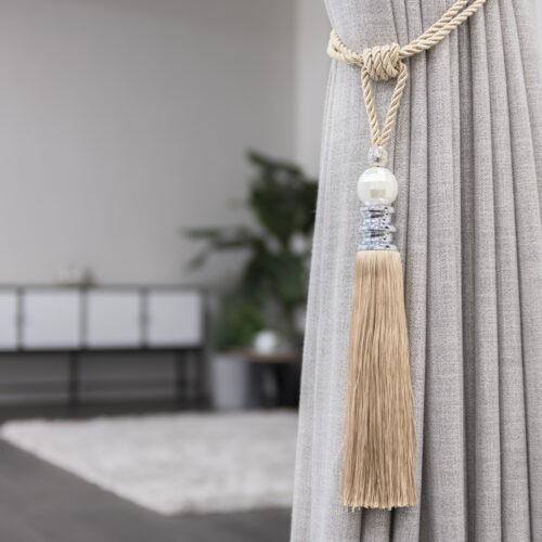 Baagus Curtain Sheer Malaysia Pearl – Brown 2