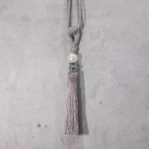 Baagus Curtain Sheer Malaysia Pearl – Grey 1