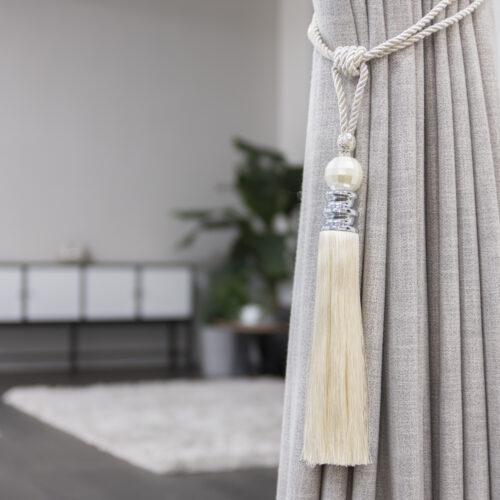 Baagus Curtain Sheer Malaysia Pearl – White 3