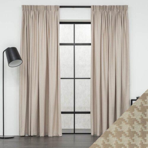 Baagus Curtain Sheer Malaysia Pixzel Brown FG 681 2BR DSC 9045 2 01 1