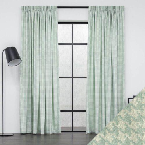 Baagus Curtain Sheer Malaysia Pixzel Green FG 681 1GN DSC 9044 2 01