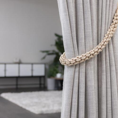 Baagus Curtain Sheer Malaysia Rope – Beige 3