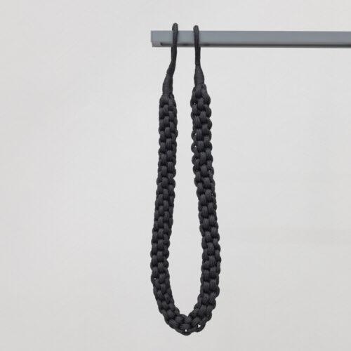 Baagus Curtain Sheer Malaysia Rope – Black 2