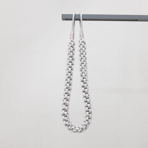Baagus Curtain Sheer Malaysia Rope – Grey 1