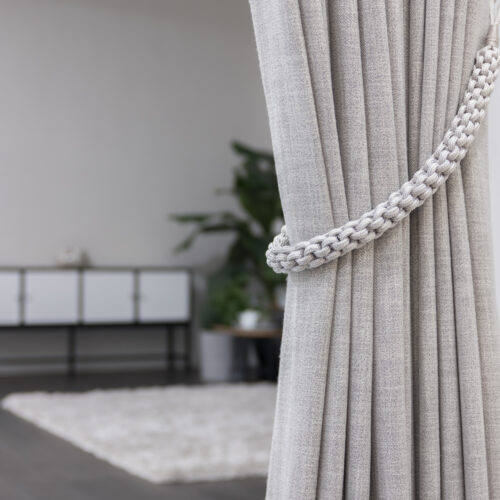 Baagus Curtain Sheer Malaysia Rope – Grey 3