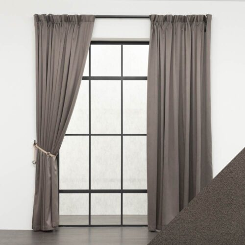 Baagus Curtain Sheer Malaysia Sandy Dark Brown FB 2800 19DBR DSC 9570 01