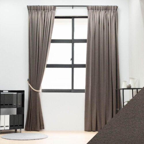 Baagus Curtain Sheer Malaysia Sandy Dark Brown FB 2800 19DBR DSC 9788 1 01 1