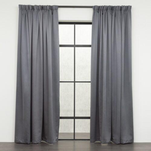 Baagus Curtain Sheer Malaysia Sandy Dark Grey FB 2800 11DG DSC 9549