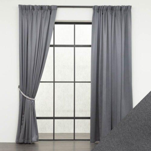 Baagus Curtain Sheer Malaysia Sandy Dark Grey FB 2800 11DG DSC 9550 01