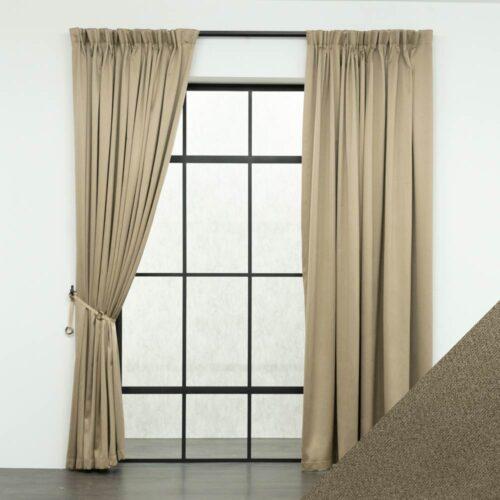 Baagus Curtain Sheer Malaysia Sandy Light Brown FB 2800 16LBR DSC 9508 01