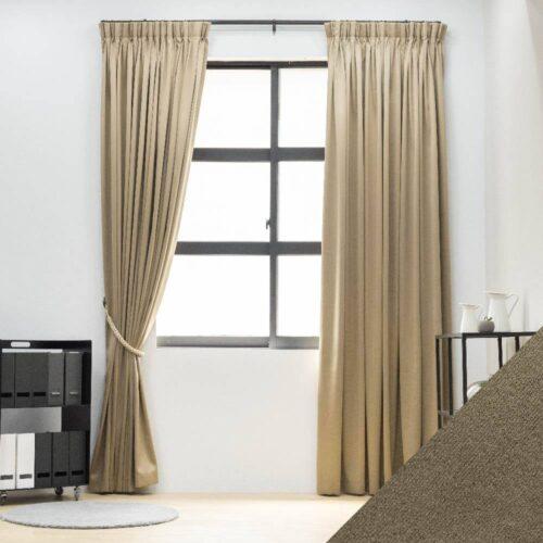 Baagus Curtain Sheer Malaysia Sandy Light Brown FB 2800 16LBR DSC 9786 01 01 1