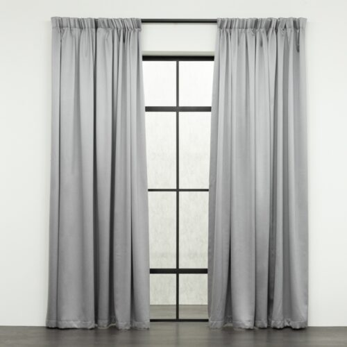 Baagus Curtain Sheer Malaysia Sandy Light Grey FB 2800 3LG DSC 9598
