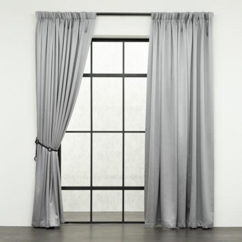 Baagus Curtain Sheer Malaysia Sandy Light Grey FB 2800 3LG DSC 9600