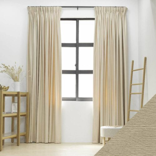 Baagus Curtain Sheer Malaysia Sea Wave Beige FP 3600 7B DSC 9735 01 01 1