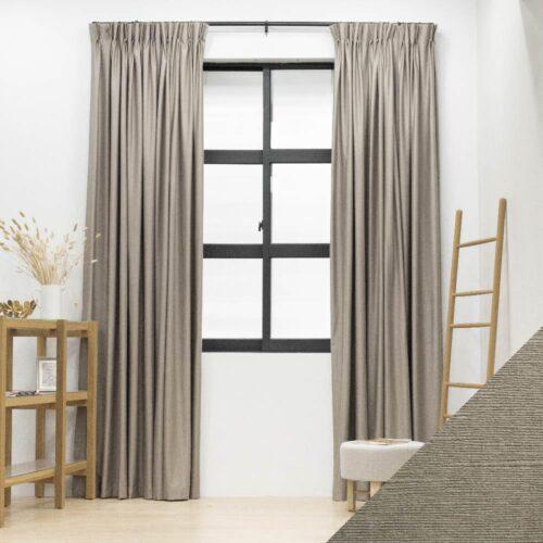 Baagus Curtain Sheer Malaysia Sea Wave Brown FP 3600 1BR DSC 9761 01 01 1
