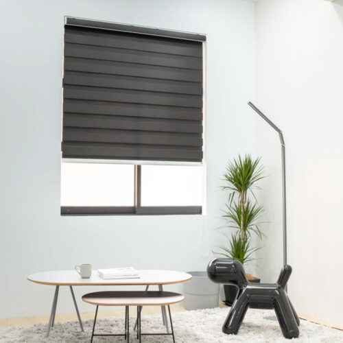 Baagus Curtain Sheer Malaysia Shade – Black 2