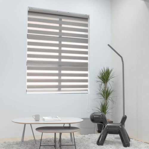 Baagus Curtain Sheer Malaysia Shade – Brown 1