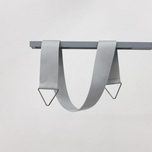 Baagus Curtain Sheer Malaysia Sleek Triangle – Grey 1