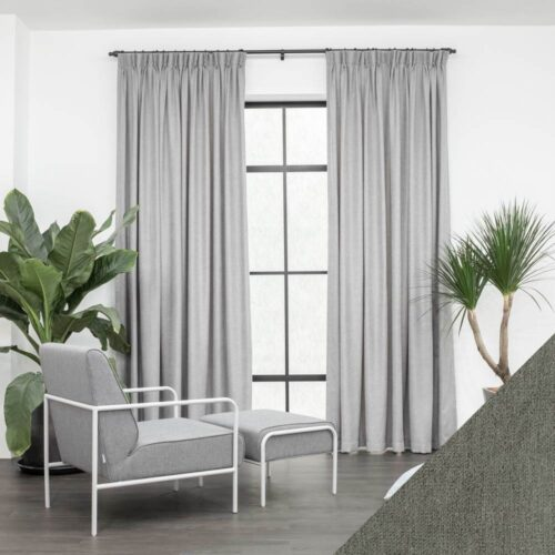 Baagus Curtain Sheer Malaysia Soft Yarn Dark Grey 1 01