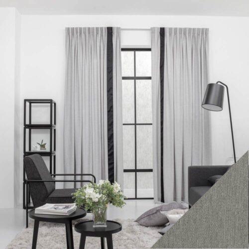 Baagus Curtain Sheer Malaysia Soft Yarn Grey 422 1 01