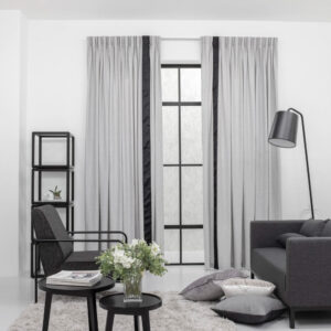 Baagus Curtain Sheer Malaysia Soft Yarn Grey 422 1