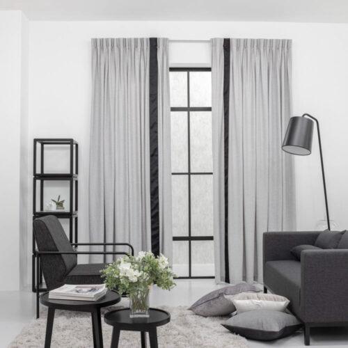 Baagus Curtain Sheer Malaysia Soft Yarn Grey 422 1