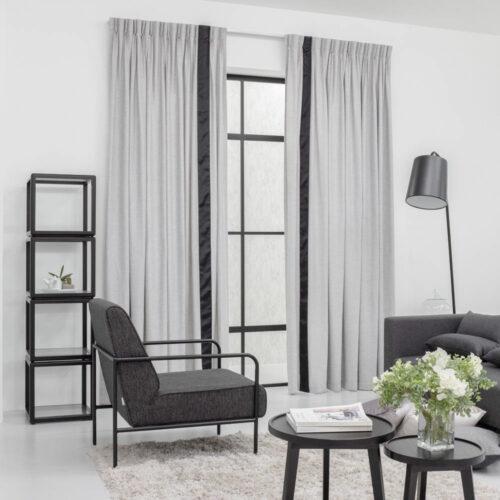 Baagus Curtain Sheer Malaysia Soft Yarn Grey 422 2