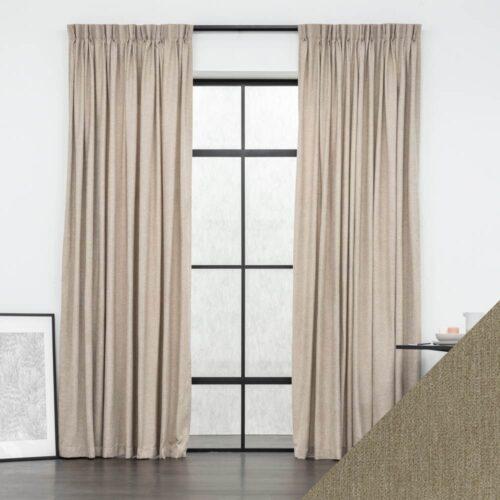 Baagus Curtain Sheer Malaysia Soft yarn Brown FP FYR 9BR DSC 8892 3 01