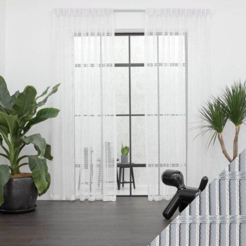 Baagus Curtain Sheer Malaysia Staircase White 1 1