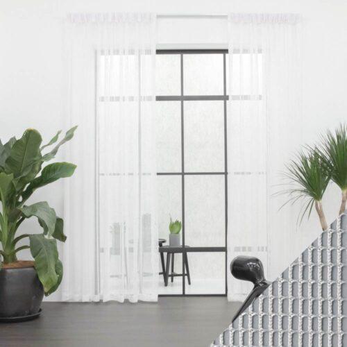 Baagus Curtain Sheer Malaysia Sturdy Net White 1 1
