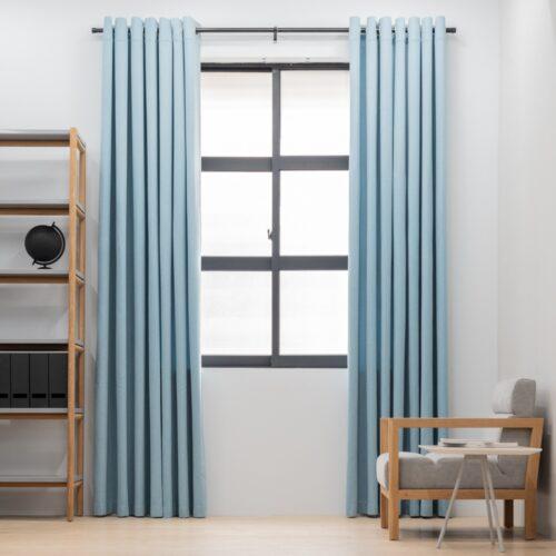 Baagus Curtain Sheer Malaysia Sturdy Soft Blue FP 5039 22BL DSC 9041 2