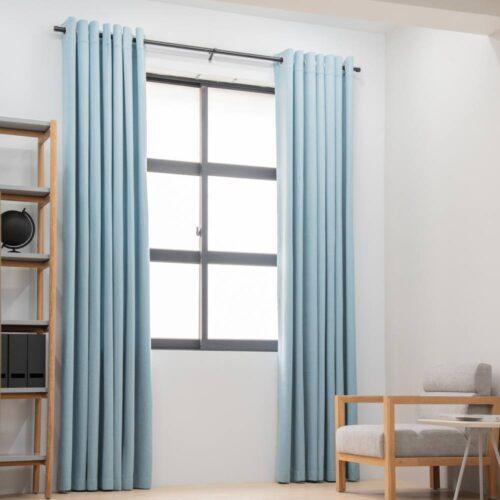 Baagus Curtain Sheer Malaysia Sturdy Soft Blue FP 5039 22BL DSC 9041 3