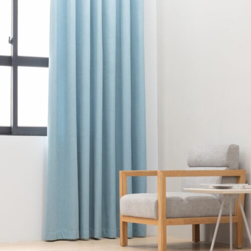 Baagus Curtain Sheer Malaysia Sturdy Soft Blue FP 5039 22BL DSC 9041 4