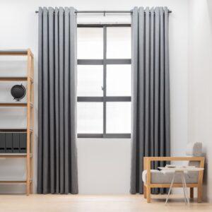 Baagus Curtain Sheer Malaysia Sturdy Soft Dark Grey FP 5039 15DG DSC 8840 3