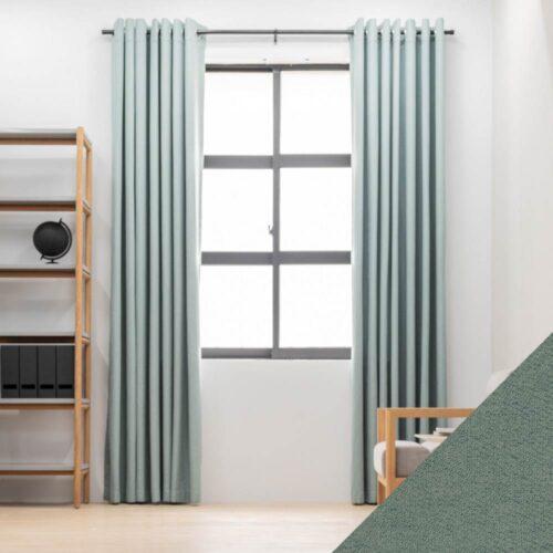 Baagus Curtain Sheer Malaysia Sturdy Soft Green FP 5039 23GN DSC 8837 3 01 01
