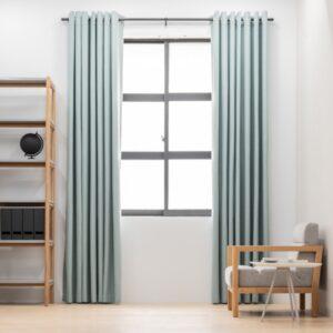 Baagus Curtain Sheer Malaysia Sturdy Soft Green FP 5039 23GN DSC 8837 3