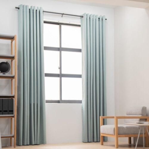 Baagus Curtain Sheer Malaysia Sturdy Soft Green FP 5039 23GN DSC 8837 4