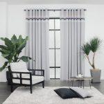 Baagus Curtain Sheer Malaysia Sturdy Soft Grey 1