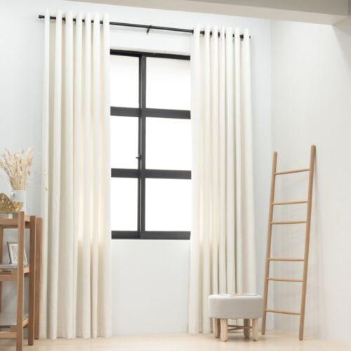 Baagus Curtain Sheer Malaysia Sturdy Soft WhiteFP 5039 2W DSC 9708