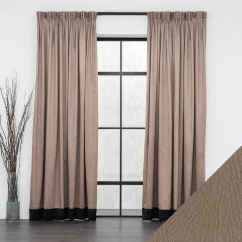 Baagus Curtain Sheer Malaysia Syamese Brown FP 3058 6BR FP RHA 18BK DSC 9052 2 01 1
