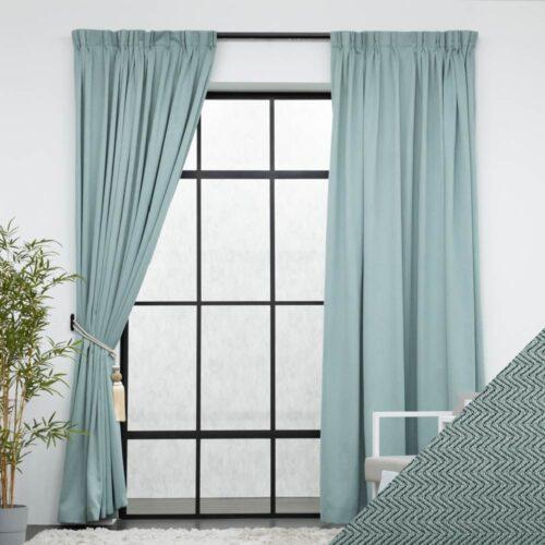 Baagus Curtain Sheer Malaysia Tiffany Green FP DFN 9LGN 01