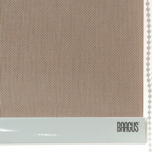 Baagus Curtain Sheer Malaysia Twill Peforated – Brown 3