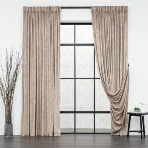 Baagus Curtain Sheer Malaysia Velvety Spur Brown FP JH 15BR DSC 7850 3
