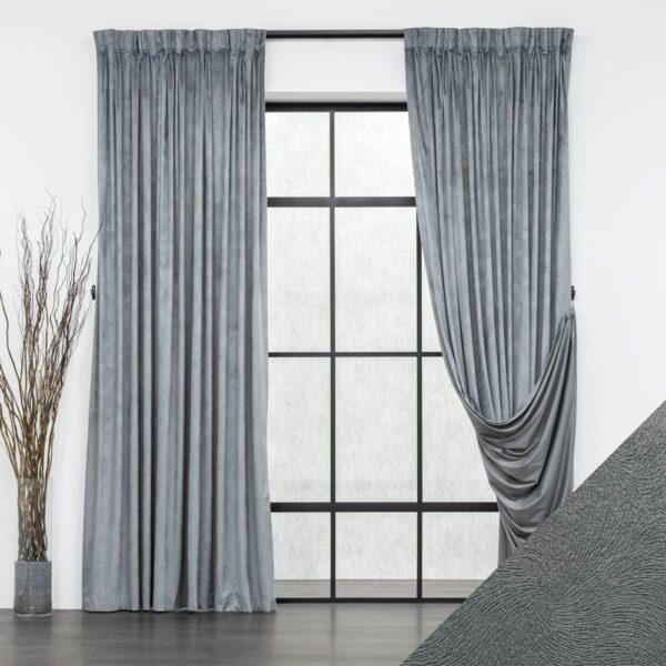 Baagus Curtain Sheer Malaysia Velvety Spur Grey FP JH 22DG DSC 8868 1 01 1