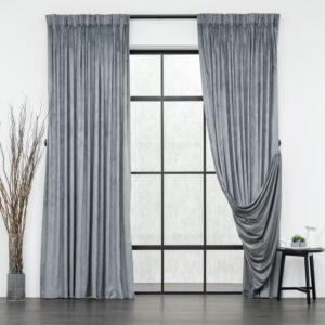 Baagus Curtain Sheer Malaysia Velvety Spur Grey FP JH 22DG DSC 8868 1