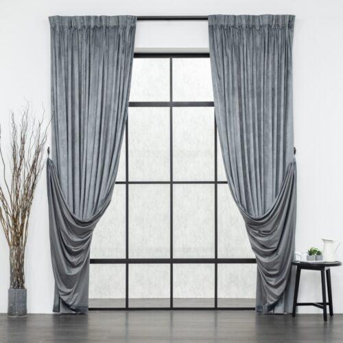 Baagus Curtain Sheer Malaysia Velvety Spur Grey FP JH 22DG DSC 8868 3