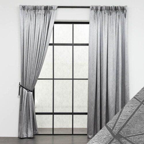 Baagus Curtain Sheer Malaysia Victor Grey FB MV52 101 4G DSC 9495 01
